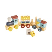 Oshkoshbgosh Wooden Train Set