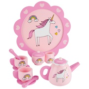 Oshkoshbgosh Wooden Unicorn Tea Set