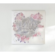 Potterybarn Rachel Ashwell Crown Painting