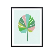 Potterybarn Sherbert Palm Wall Art by Minted