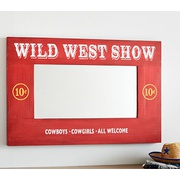 Potterybarn Junk Gypsy Wild West Mirror