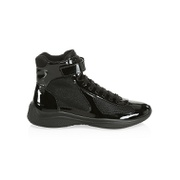 Prada Americas Cup Patent Leather Sneakers
