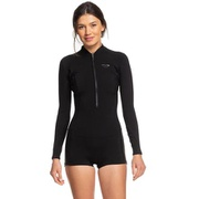 Roxy Satin 1.5mm Front-Zip Long-Sleeve Springsuit - Womens