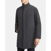 Theory Paper Nylon Stand Collar Down Coat