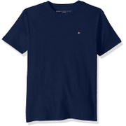 Tommy+Hilfiger Tommy Hilfiger Boys Short Sleeve Solid Crew-Neck T-Shirt