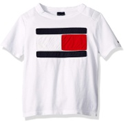 Tommy+Hilfiger Tommy Hilfiger Big Boys Adaptive T Shirt Magnetic Buttons at Shoulders
