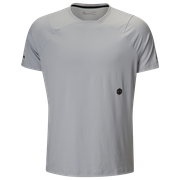 Under Armour Rush Fitted T-Shirt - Mens / Mod Grey/Black