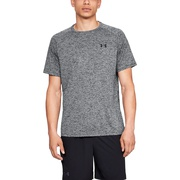 Under Armour Tech 2.0 Short Sleeve T-Shirt - Mens / Black Twist