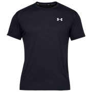 Under Armour Streaker 2.0 Short Sleeve - Mens / Black/Black/Reflective