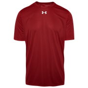 Under Armour Team Locker 2.0 S/S T-Shirt - Mens / Punch Tech Red/White