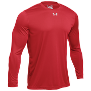 Under Armour Team Locker 2.0 L/S T-Shirt - Mens / Punch Tech Red/White