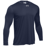 Under Armour Team Locker 2.0 L/S T-Shirt - Mens / Punch Tech Midnight Navy/Metallic Silver