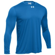 Under Armour Team Locker 2.0 L/S T-Shirt - Mens / Powderkeg Blue/Metallic Silver