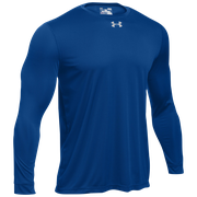 Under Armour Team Locker 2.0 L/S T-Shirt - Mens / Punch Tech Royal/Metallic Silver