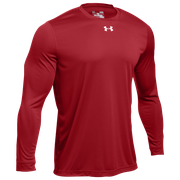 Under Armour Team Locker 2.0 L/S T-Shirt - Mens / Flawless/Metallic Silver