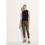 Vince Leather Crop Pant